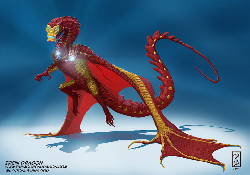 Modern Dragons: Comic Book Heroes Become Creatures of Legend