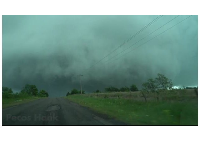 Monster Tornado in Oklahoma Up Close