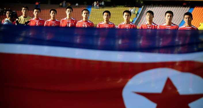 North Korea's team poses before the their FIFA U-20 World Cup football match against Argentina  (file)