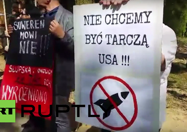 Poland: Protesters rally against construction of US missile defence complex
