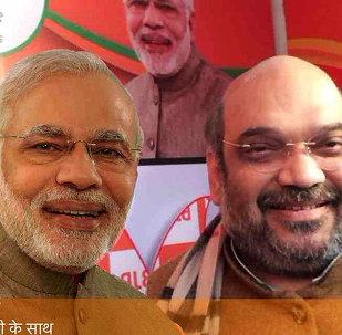 Selfie with Modi campaign in Delhi