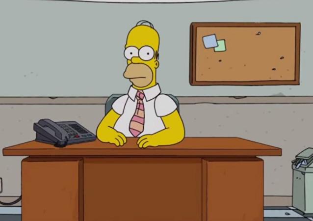 Homer Simpson live Q&A