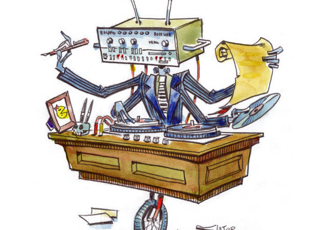 Robot: Lawyer, writer, house music