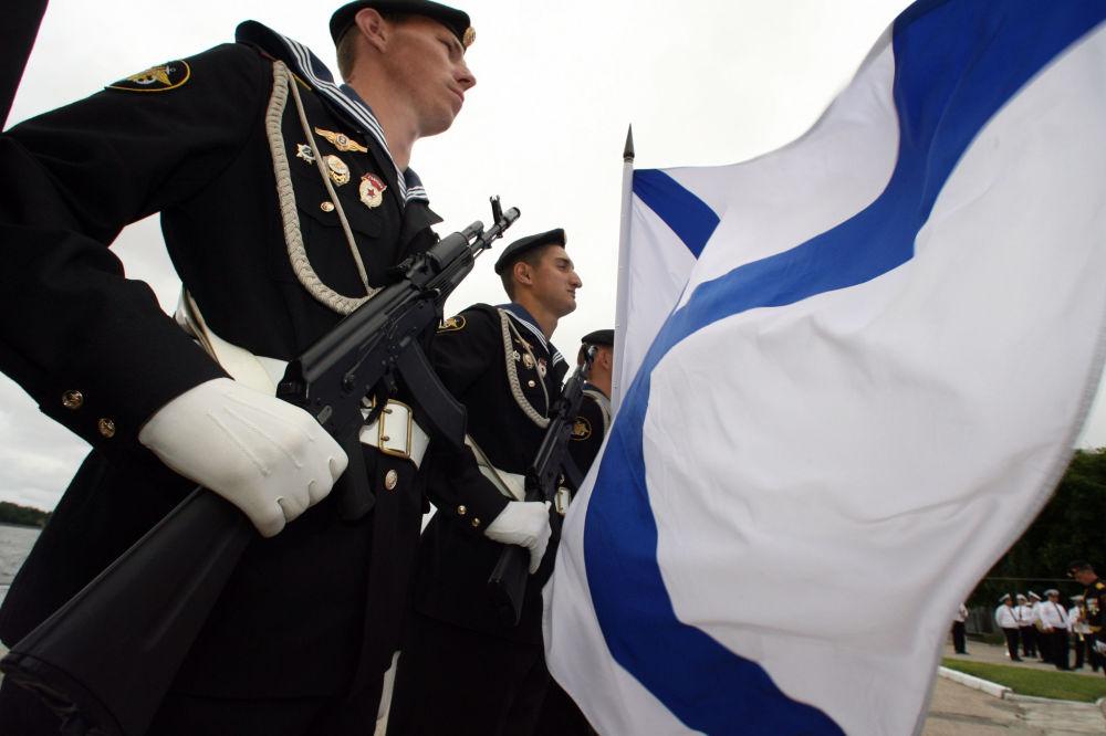 Russia's Baltic Fleet Celebrates Its Birthday