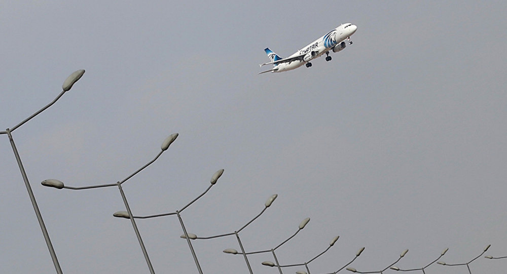 An EgyptAir plane lands at Cairo Airport in Egypt May 19, 2016