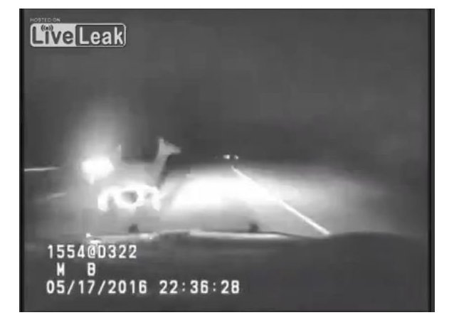 Dashcam Shows Elk Hit By Montana Highway Patrol Car