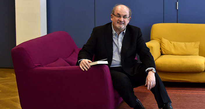 Indian born British author Salman Rushdie (File)