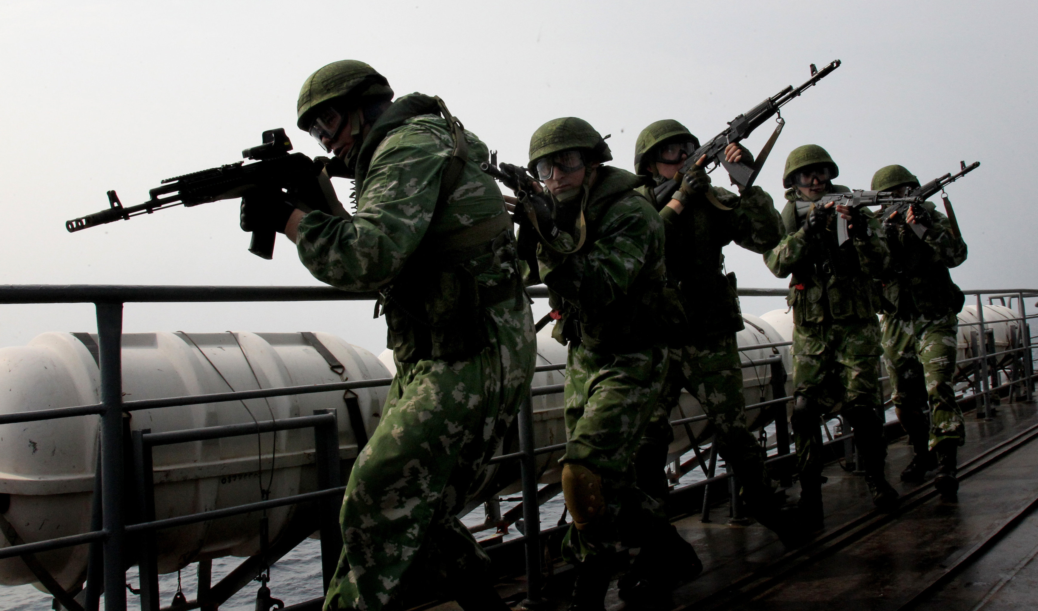 Over 6,500 Russian servicemen, 15 warships and over 10 aircraft will hold military drills in the Far East Kamchatka Territory, the Eastern Military District said Monday
