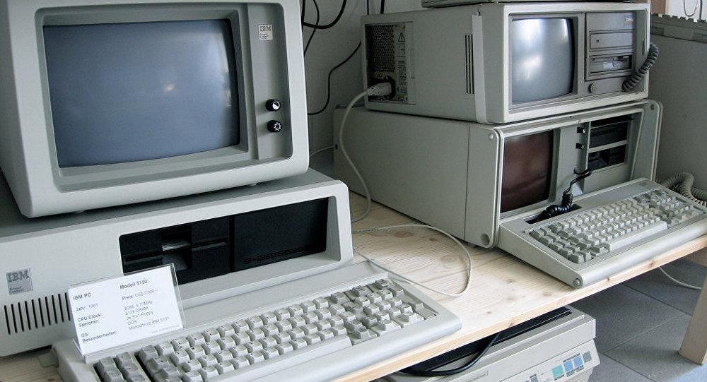 Первый персональный компьютер IBM 5150