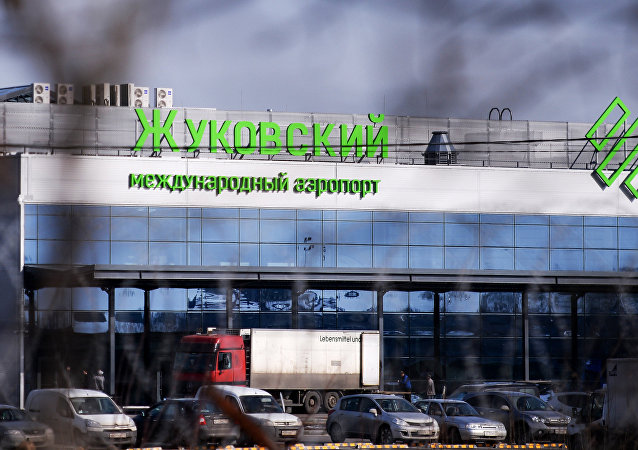 The building of the Ramenskoye international airport in Zhukovsky