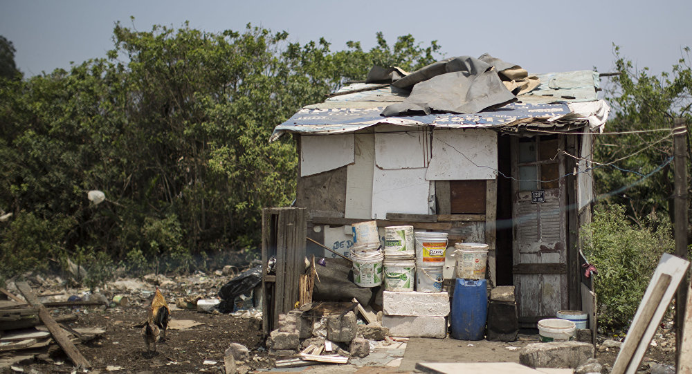 Home in a shantytown on the outskirts of Rio de Janeiro, Brazil. (File)