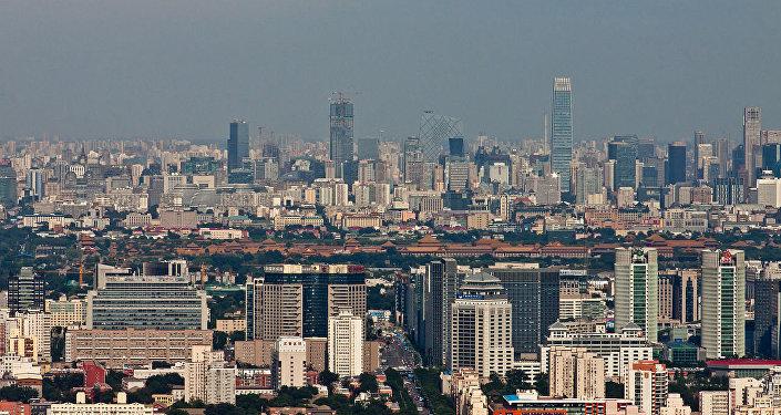View of Beijing, China.