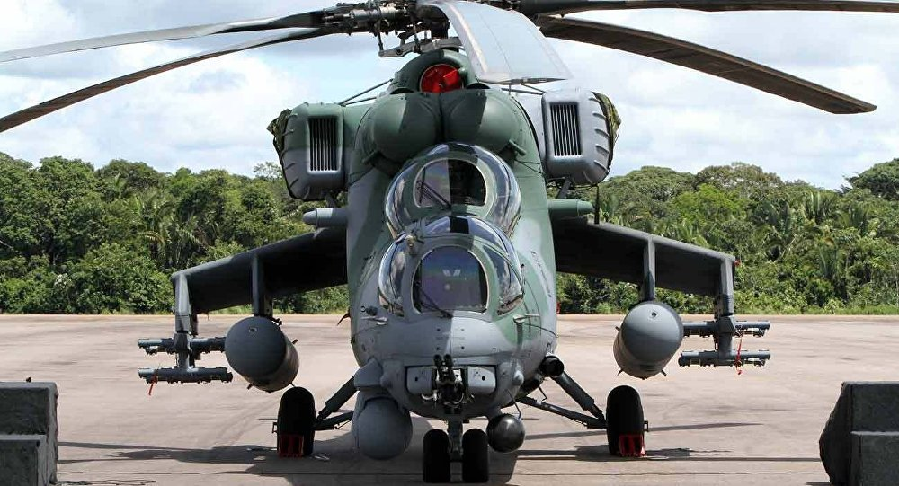 Mi-35M helicopter