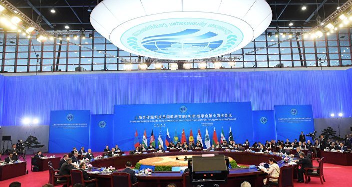 Meeting of the Council of SCO Heads of Government and heads of delegations of SCO observer states. (File)