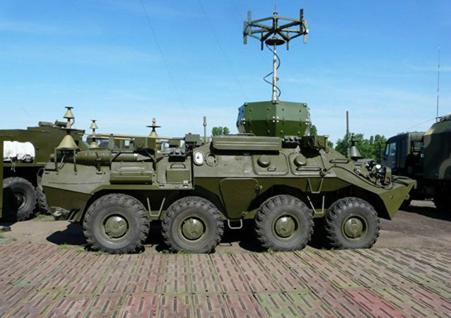 Multirole electronic warfare vehicle Infauna