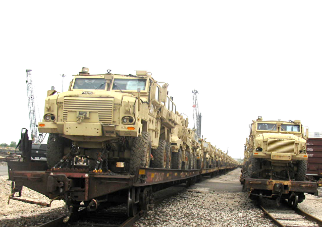MRAP (Mine Resistant Ambush Protected) vehicles