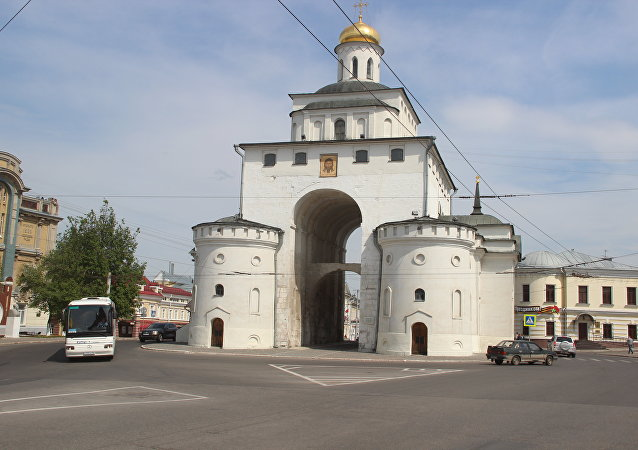 Golden gate, Vladimir