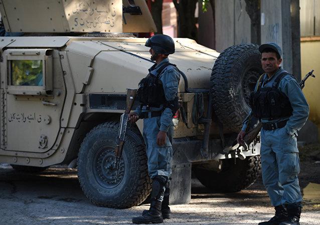 Afghan police. (File)