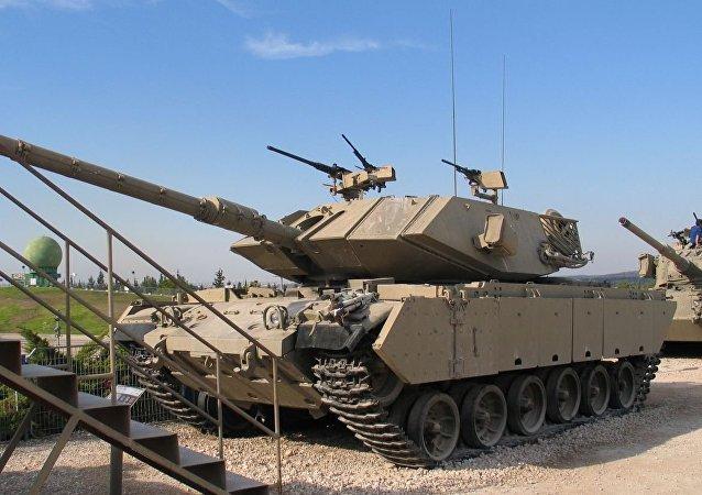 Magach Tank