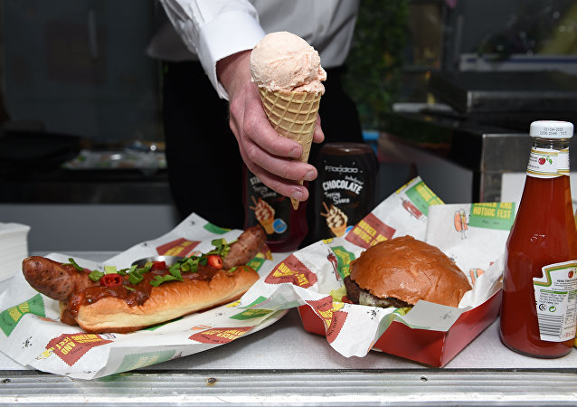 British pub giant launches burger and hot dog flavoured ice creams