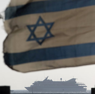 FILE - In this May 31, 2010 file photo the Mavi Marmara ship, the lead boat of a flotilla headed to the Gaza Strip which was stormed by Israeli naval commandos in a predawn confrontation, sails into the port of Ashdod, Israel.