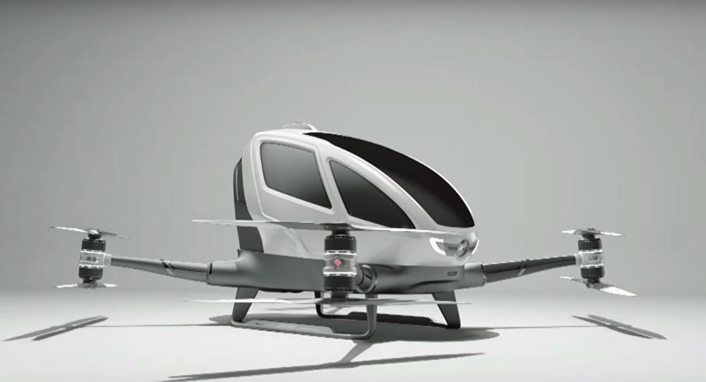EHang's 184 passenger drone