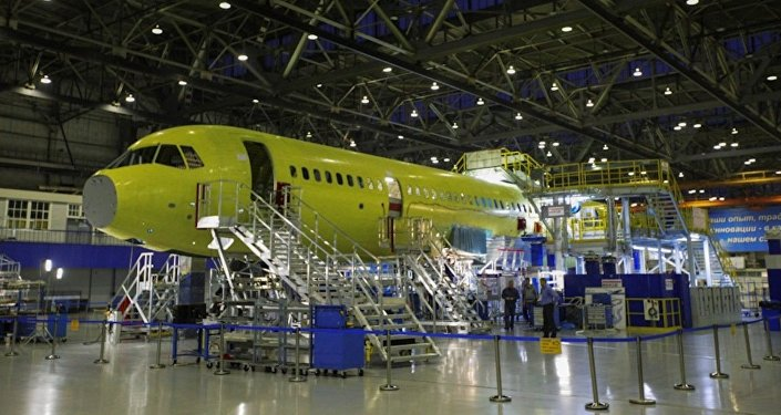 MC-21 on the assembly line at Irkut