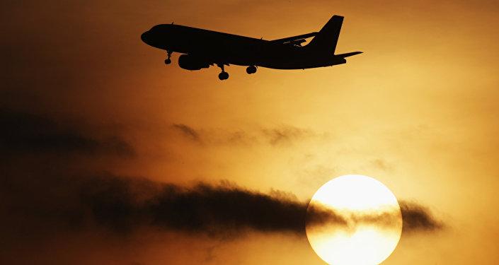 Airbus A-319 at Domodedovo airport