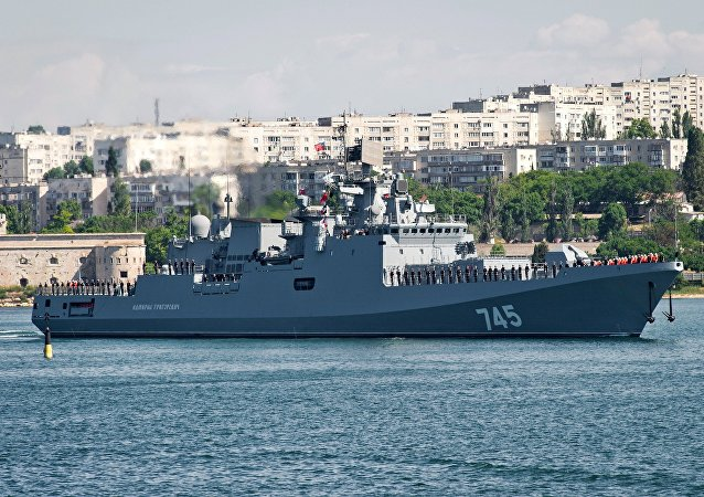 Russia's Admiral Grigorovich frigate has arrived at its permanent base in Sevastopol