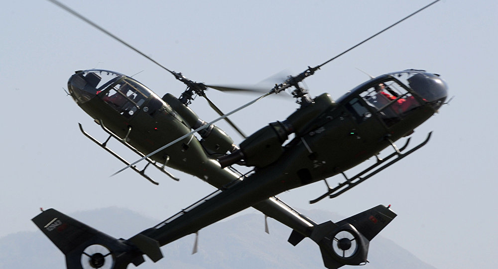 Montenegro army helicopters. File photo
