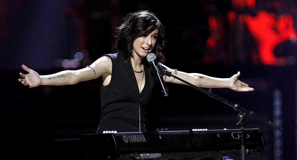 Singer Christina Grimmie (File)
