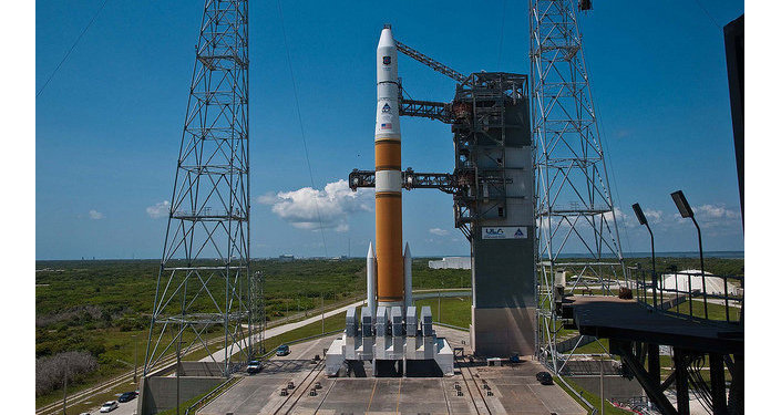 A United Launch Alliance Delta IV rocket