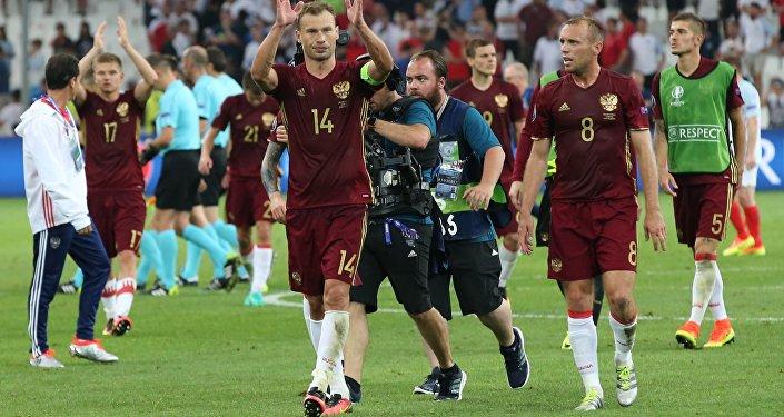 Football. Euro 2016 match England - Russia