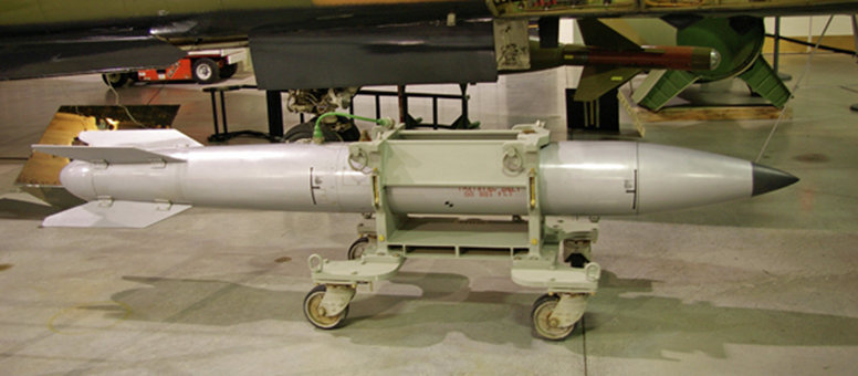 The B-61, the oldest nuclear bomb in the US arsenal
