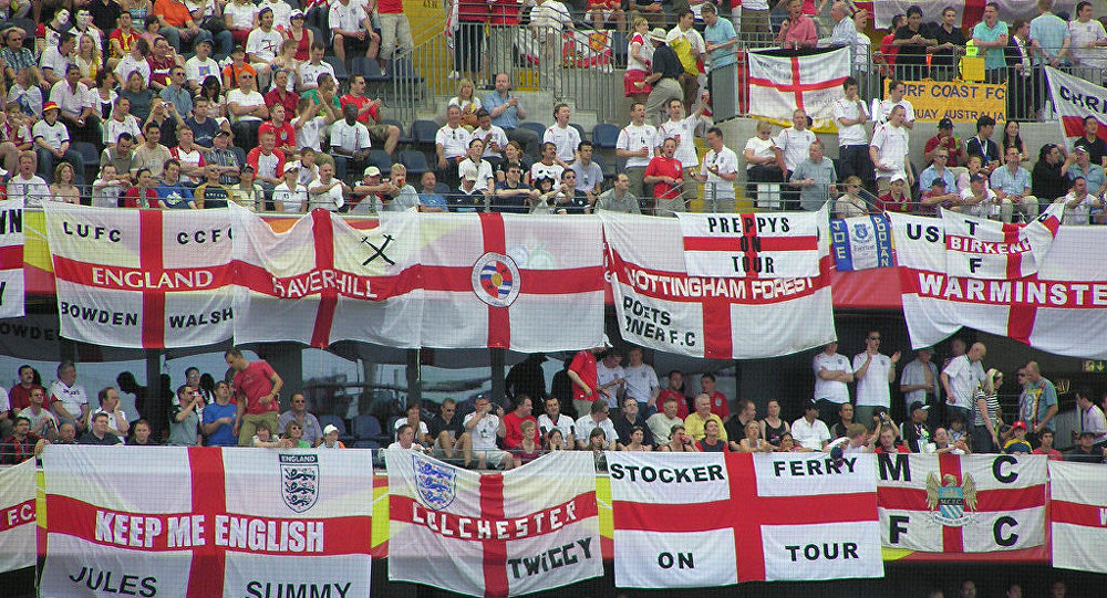 St George flags are too 'imperialistic' for World Cup, say police