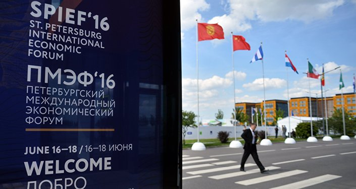 Preparations for St. Petersburg International Economic Forum's opening