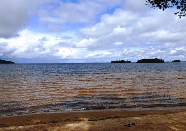 Lake Syamozero, Karelia