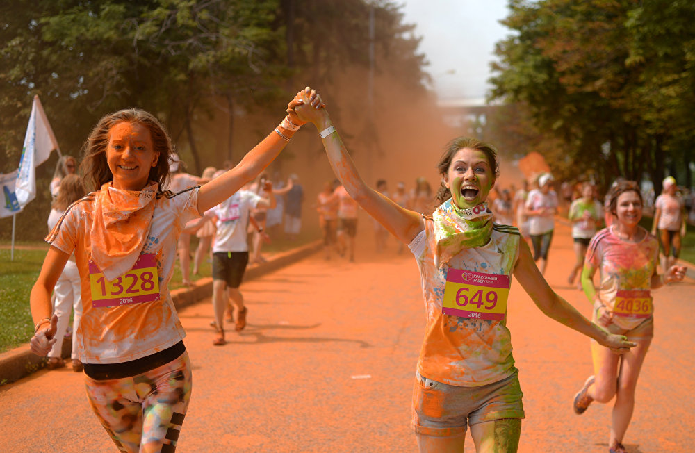 Color Run 2016 in Moscow
