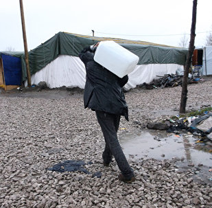 It's very difficult to bring water home, especially in this weather. My brother does this every day, sometimes me and my little sister carry some also - Sultana, 11, Afghanistan.