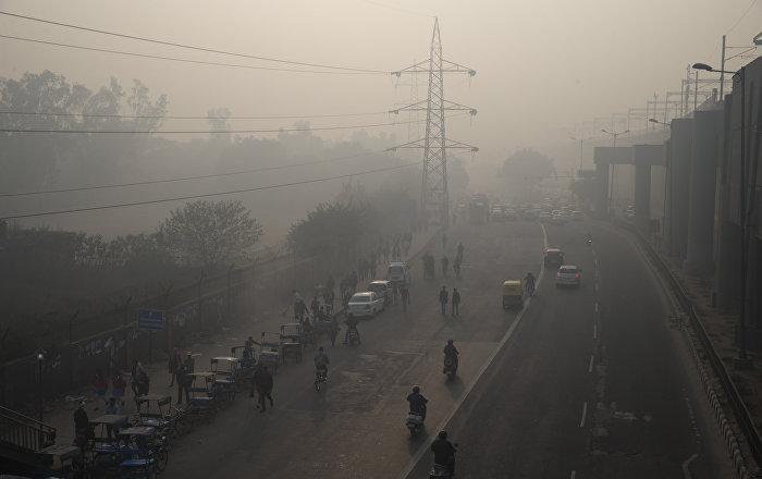 New Delhi Roads Get Improvised Gadgets for Smog Control - Sputnik International