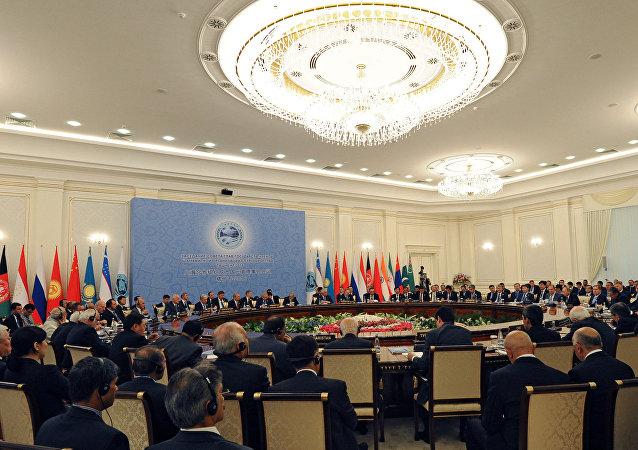 SCO summit in Tashkent