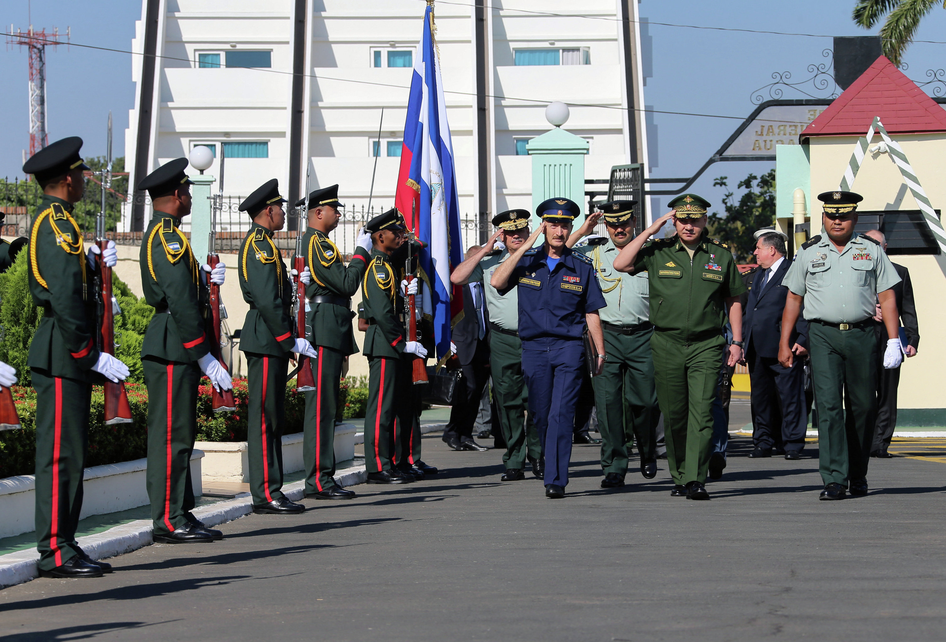 Defense Minister Sergei Shoigu on official visit to Nicaragua
