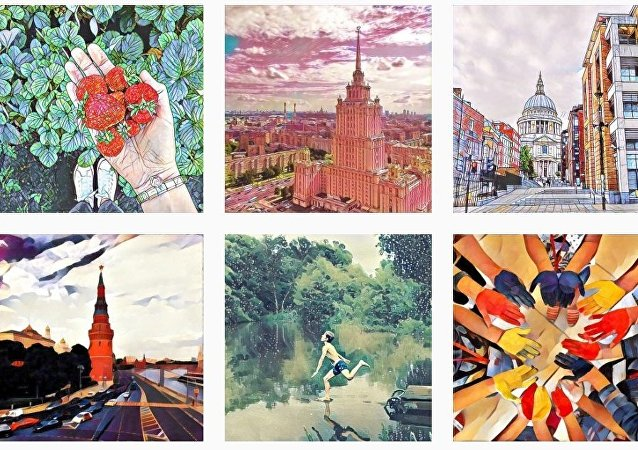Images created with the help of Prisma add