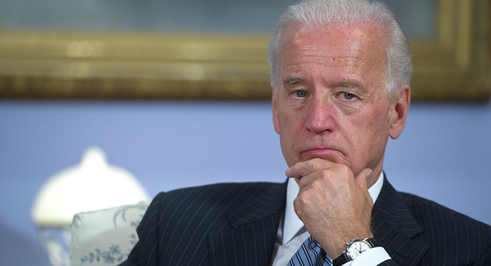 Biden said that that the militia is Russia-backed and thus Russia should be targeted by more Western sanctions