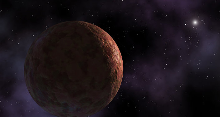 Artist's conception of planet-like object Sedna