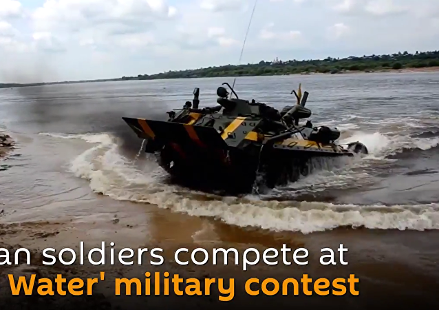 'Open Water' Military Competition