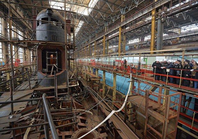 Komsomolsk-on-Amur shipyard
