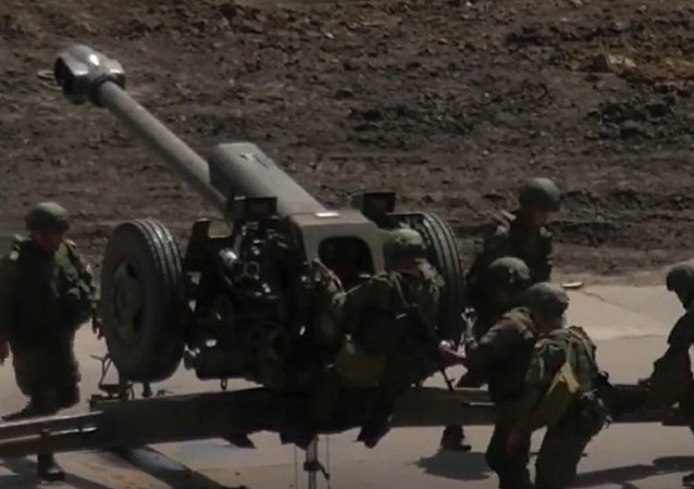 Russia's MoD Holds Artillery Contest