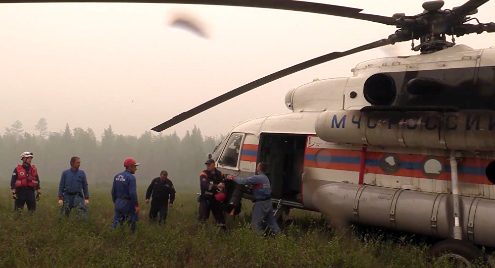Search for missing Il-76 plane in Irkutsk Region