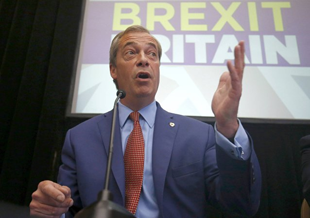 Nigel Farage, the leader of the United Kingdom Independence Party (UKIP), speaks at a news conference in central London, Britain July 4, 2016